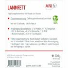 Lamb Fat (Lammfett) 200g (1 Package)